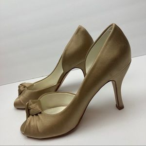 Michelangelo Champagne Wedding Shoes Davids Bridal